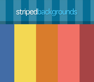 Striped backgrounds