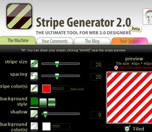 stripe generator
