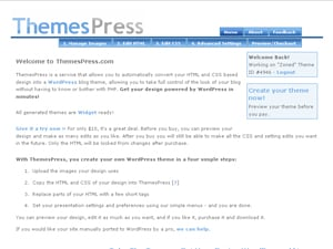 ThemePress WordPress Theme Generators