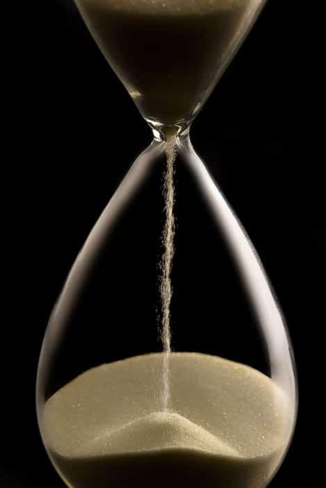 Running hourglass