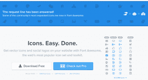 FontAwesome resources for web developers