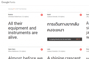 font resources for web developers