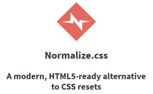 normalize.css resources for web developers