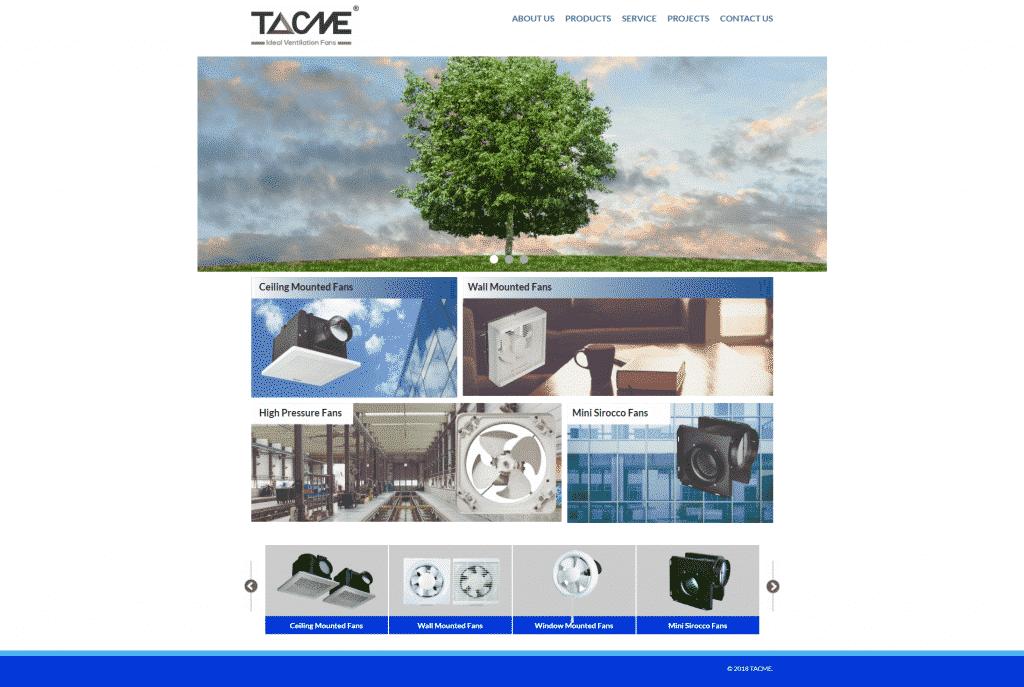web development - tacmefan - Siam Communications
